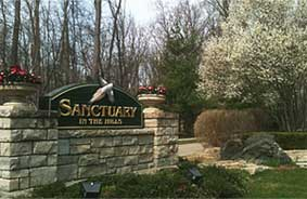 Sanctuary in the Hills Entry